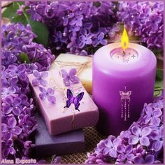 An animated gif. Make your own gifs with our Animated Gif Maker. Beautiful Gif, Beautiful Candles, Beautiful Flowers, Beautiful Butterflies, Shell Candles, Pillar Candles, Rosas Gif, Foto Gif, Photo Candles