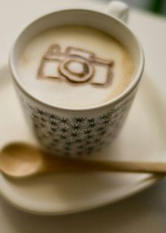 This is the essence of my pinterest board. Cameras and Coffee.