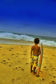 Laguna Beach, California. Summer-Surfer Boy