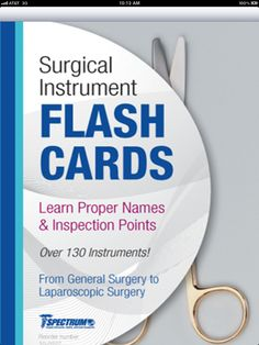 Spectrum Flash Cards free download for iPhone & iPad - $1.99 (A friend said it was good for Vet Tech content)