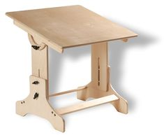 Kids Eco Art Drafting Style Table (Natural). $249.00, via Etsy.