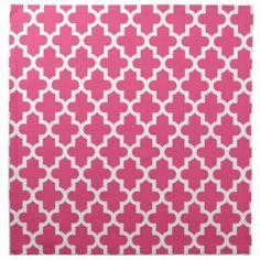 Moroccan Fabric Patterns | Lemon Yellow and White Quatrefoil Pattern Cloth Napkins