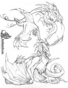 NeonDragonArt.com: Fantasy Art - Dragons4