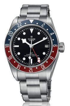 Tudor and Rolex, the two factions of the House of Hans Wilsdorf, are owning the GMT for 2018 - a GMT, incidentally, is a watch which tells both the local time, and GMT. This little beauty is Tudor's Pepsi-Cola GMT. With a bicolour aluminium bezel, the watch has a Sixties-inspired, vintage appeal. The best bit, however, is that the watch, which contains an in-house movement and is available from June onwards, comes in at £2,570. That's a hell of a lot of watch, for very little investment.