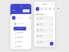 do list - Task app by Vadim Marchenko Web And App Design, Interaktives Design, Flat Design, Graphic Design, Interface Design, Interface Web, Dashboard Mobile, Mobile App Ui, Mobile Ui Design