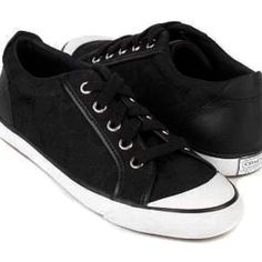 Coach Barrett Sneakers 8 Like new. Black and white. Size 8. No trades. No PayPal. Coach Shoes Sneakers
