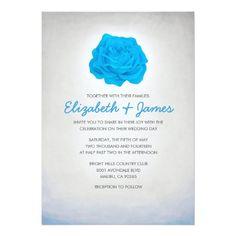 Simple Wedding Reception Unique Trendy Floral Wedding Invitations