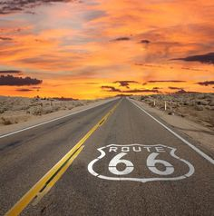 USA's 5 best road trips! The ultimate list? Click to decide for yourself... #Route66 #adventure