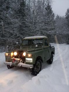 Land Rover Series IIa with Holiday Spirit