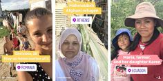 How a Nonprofit Used Instagram Stories to Show 7 Incredible Female Lives Around the World – Adweek