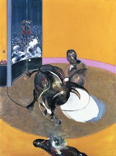 Bacon réalise trois Études pour la corrida en 1969, dont l'Étude pour une corrida no 2, actuellement conservée au musée des beaux-arts de Lyon, qui a servi pour l'affiche de la feria de Nîmes en 1992 http://manufactureduregard.tumblr.com/post/65325971277/publication-de-manufacture-du-regard