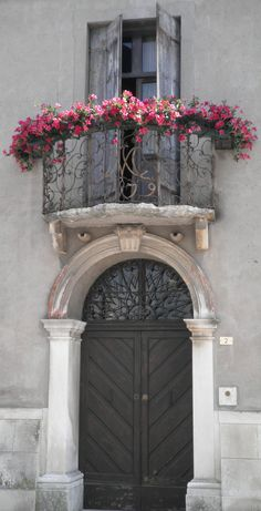 Attractive balcony in Lendinara. Italy. You can just make out the date 1779 in the balcony's ironwork.