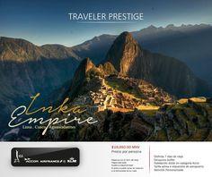 Inka Empire Del 19 al 25 de mayo 2016 Disfruta 7 días de viaje, visita: Lima, Cusco, Aguas Calientes y Machu Picchu __________________ $19,850.00 MXN Precio por persona Reserva con el 35% del total. Pagos parciales. Sujeto a disponibilidad. El precio puede variar en relación a la temporada de su viaje.
