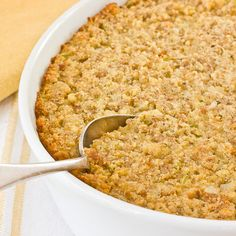 #7 - TREASURED RECIPE. Recipe: Southern-Style Cornbread Dressing Recipes from The Kitchen. #MOMSMEALS