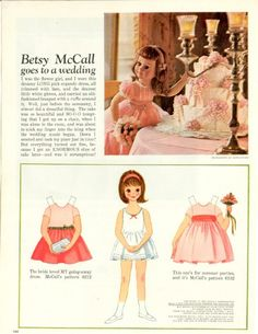 If you want to start collecting vintage Betsy McCall paper dolls or need to add to your existing collection now is the time. I will be listing