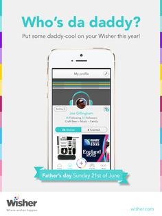Get your Father's Day wishes in order. Add some daddy-cool this year!