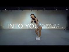 Ariana grande - INTO YOU / Choreography .Jane Kim - YouTube