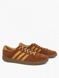 Adidas Originals SPZL Bulhill Sneakers The adidas Originals SPZL Bulhill Sneakers for AW16, seen here in brown. - - - adidas present these unique sneakers as part of their AW16 SPEZIAL collection. Featuring the brand™s Hawaii sole and a Fr http://www.MightGet.com/january-2017-13/adidas-originals-spzl-bulhill-sneakers.asp