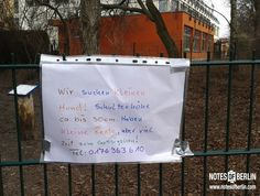 Hundeplatz am Schäfersee | #Reinickendorf // Mehr #NOTES findet ihr auf www.notesofberlin.com