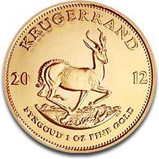The South African Gold Krugerrand is one of the first bullion coins made for investment purposes. The 22K coins were first minted in 1967. The Gold Krugerrand was commercialized so well that in the 80s, they were 89% of all the gold bullion coin market....