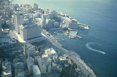 Lebanon, Phoenicia Hotel and St. Georges Hotel and Bay- #Beirut [1974]