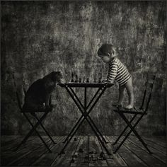 For several years, the Russian photographer Andy Prokh manages to capture unique moments between his daughter Catherine and their cat. Description from pinterest.com. I searched for this on bing.com/images