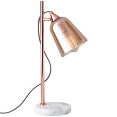 Modern Adjustable Copper Desk Lamp