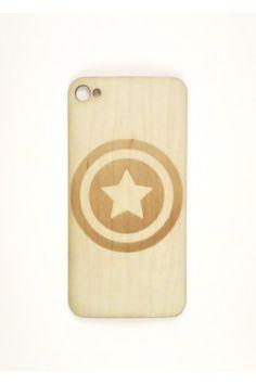Capt America Shield iPhone 4/4s Skin