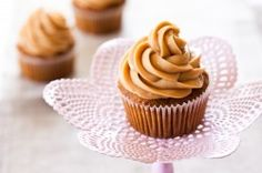 Carrot Cupcakes with Biscoff Spread Icing