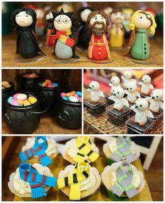 Harry Potter themed birthday party via Kara's Party Ideas