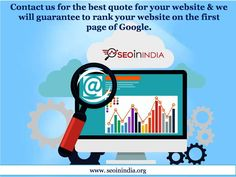 SEO Experts in India Call us on +91-8445144444 and allow us to keep your Website and business running. We are providing cheap and quality US based dedicated Servers for SME's and Individuals. We will really appreciate if you please let us know your server requirement. Email Us: info@seoinindia.org Call Us: +91 84 45144444  http://seoinindia.org/