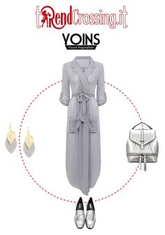 """""""Greysilver"""" by trendcrossing on Polyvore featuring moda"""