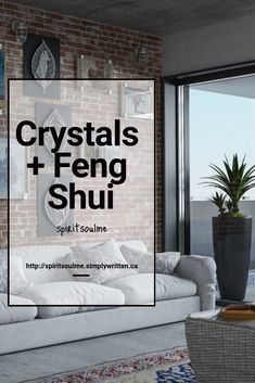 A room-by-room guide to crystal placement in your home. Feng Shui Basics, Feng Shui Principles, Feng Shui Tips, Feng Shui Crystals, Feng Shui Energy, Crystal Guide, Feng Shui House, Crystal Healing Stones, Tiny Spaces
