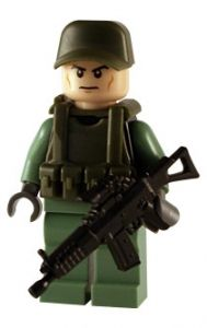 Modern Army - Soldier - Custom Lego Figure