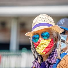 The coolest Kentucky Derby look of 2021 Kentucky Derby Fashion, Horse Racing, Horses, Photo And Video, Instagram, Color, Colour, Horse, Colors