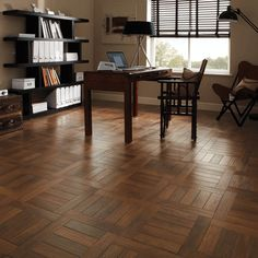 Karndean Art Select AP31 Russet Oak Parquet #shopifypicks