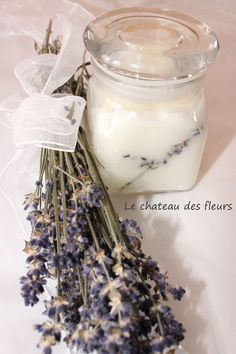 #Coconut lavender oil DIY. Great #homemade #gift.