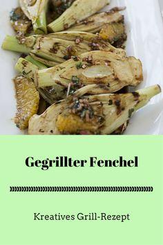 Gegrillter Fenchel