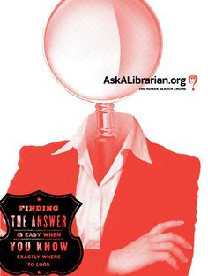 1c41b0604d01e7 Ask A Librarian poster campaign - in collaboration with Think Creative