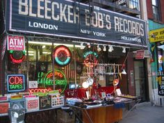 Cool record store in NYC. (West Village) When I lived in Queens, I would get on the N or the R Train, and make my way into Manhattan to seek out record stores. I always ended up in The Village.