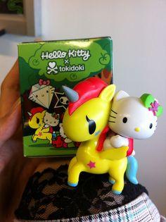 Hello Kitty and a Tokidoki unicorn?! I can haz plz?!
