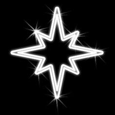 Hviezdička vianočná závesná - 500mm x 550mm - OHV08-L
