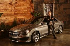 2014 Mercedes-Benz CLA-Class four door coupe