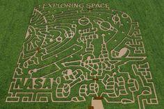 NASA corn mazes