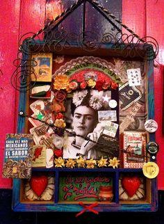 Frida Shrine. Going to make one.