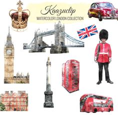 Watercolor London collection