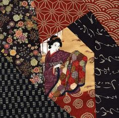 Japanese quilt block
