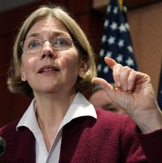 Elizabeth Warren (1949 - ) is an American bankruptcy law expert, Harvard Law School professor, and Democratic Party candidate in the 2012 United States Senate election in Massachusetts. She has written academic and popular books concerning the American economy and personal finance.  Warren attended The George Washington University and the University of Houston. She received a J.D. from Rutgers School of Law–Newark in 1976. Warren taught law at several universities.