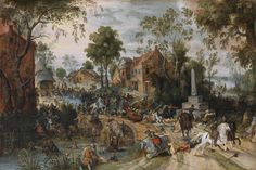 The count of Tilly chases the protestants, Battle of Stadtlohn