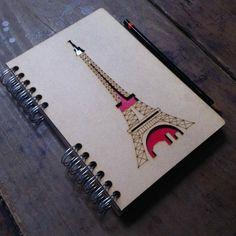 A5 agenda Torre Eiffel